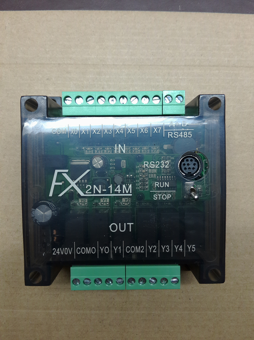 FX2N, PLC controller, programmable controller, made in China MITSUBISHI PLC 14 points, /20 points, 4 axis 100K цена