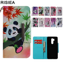 Fashion Leather Wallet Cover Case For LG K8 K10 LV3 2018 Aristo 2 Plus Stylo 4 Stylus 4 Flip Case For LG G7 ThinQ Coque(China)