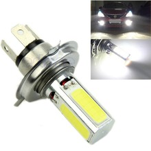 цена на Super Bright White 20W H4 Car COB LED Fog Daytime Running Light DRL Lamp DC 12V