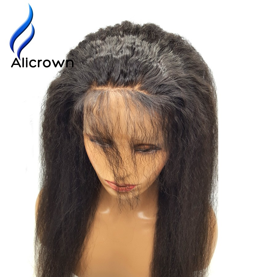 Alicrown Kinky Straight Brazilian Lace Frontal Closure For Sale With Baby Hair Lace Frontal 360 Lace Virgin Hair 22.5x4x2 (1)