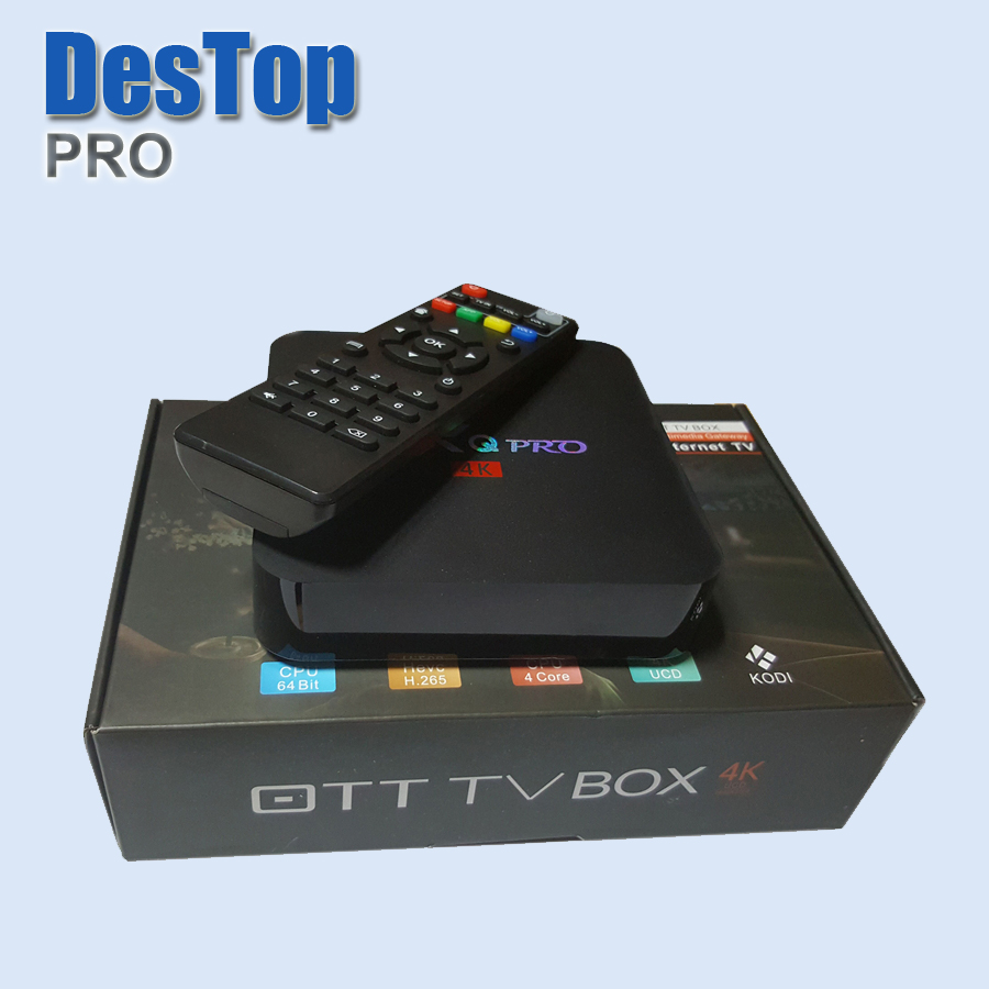 4PCS MX PRO TV BOX S905X Android 6 0 or S905W Android 7 1 DDR3 1G