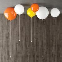 Dia 30 cm Multi Kleur Ballon Plafondverlichting Plastic Lamp Voor Kids Kinderen Nachtkastje Slaapkamer Verlichting Fixturess Lustres CL112