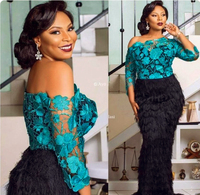 Акция! Высокое качество зеленый красный белый Французская кружевная ткань в нигерийском стиле Африки кружевной ткани для вечерние dress.5yards/...