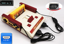 HDMI Retro TV Game Console For Nes 8 Bit Games Support 60 Pin Cartridge with Two Gamepads 500 in 1 121 Built-in