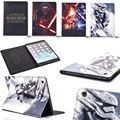 ГОРЯЧАЯ! New Star Wars Тонкий Фолио PU Кожаный Чехол ТПУ Чехол Подставка для ipad mini/2/3 Различных Планшетных 1 шт.