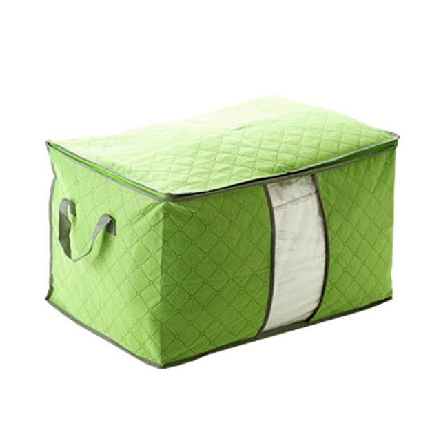 Pouch Organizer Green U Pick Foldable Storage Bag Clothes Blanket Pillow Quilt Closet Sweater Box Underbed  sc 1 st  AliExpress.com & Pouch Organizer Green U Pick Foldable Storage Bag Clothes Blanket ...