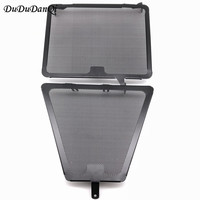Modifiy Black Radiator Guard Grille Cover Oil Cooler Protector For Ducati 848 1098 StreetFighter Motorcycle Part