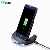 DCAE Wirless Charger For IPhone 8 X Fast Charge Universal QI Wireless Charger Pad For Samsung