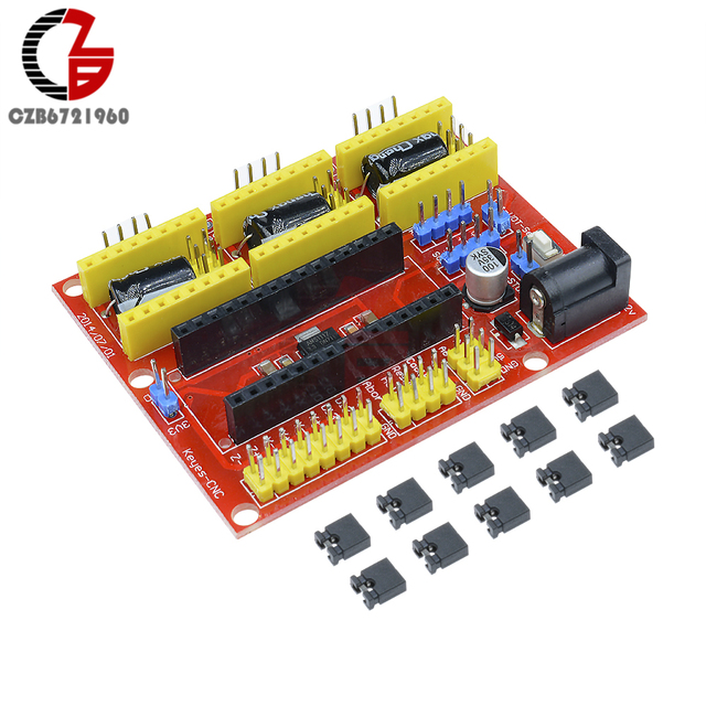 I2c Iic Cnc Shield V4 Engraving Machine 3 Axis Stepper Motor Driver Expansion Board 3 Channel For Arduino Grbl