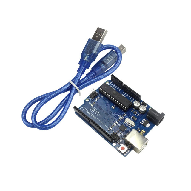 Arduino Compatible UNO Rev3 ATMEGA16U2 ATMEGA328P with Free USB Cable
