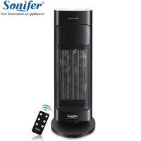 2000 Вт Электрический вентилятор обогреватель нагрева воздуха пространство теплее поклонников бытовой нагревательный прибор тепла вентиля