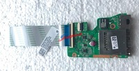 Original FOR HP Pavilion 15 AB Dual USB LAN Card Reader Board WITH Cable DAX21ATB6D0 Full TESED OK