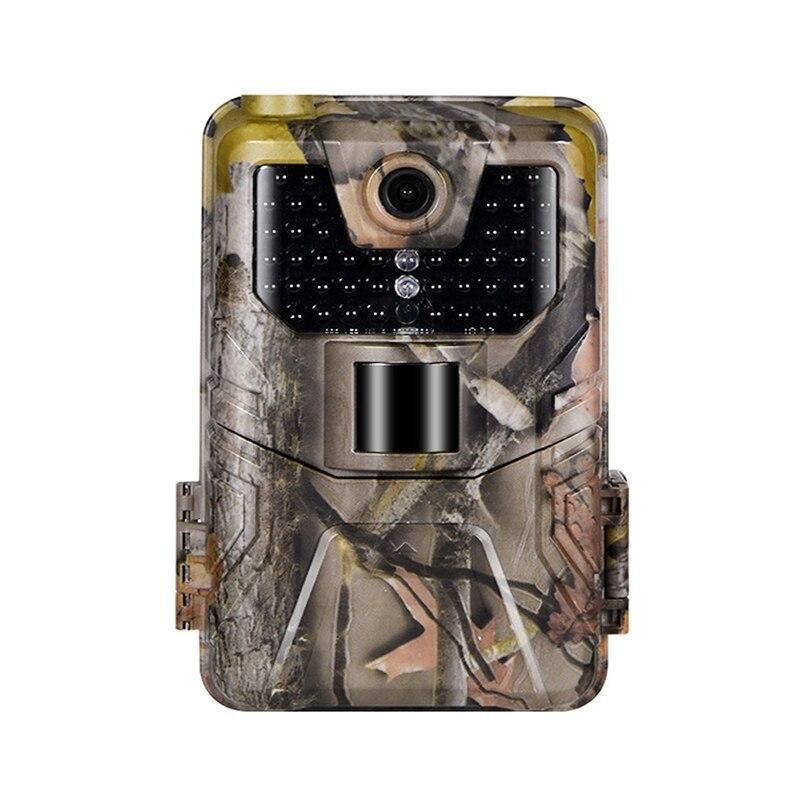 1080P 12MP camuflaje c/ámara de caza Videoc/ámara de caza impermeable de rastro de infrarrojos 100 /° Gran angular C/ámara de vigilancia a prueba de agua al aire libre C/ámara de caza de visi/ón nocturna