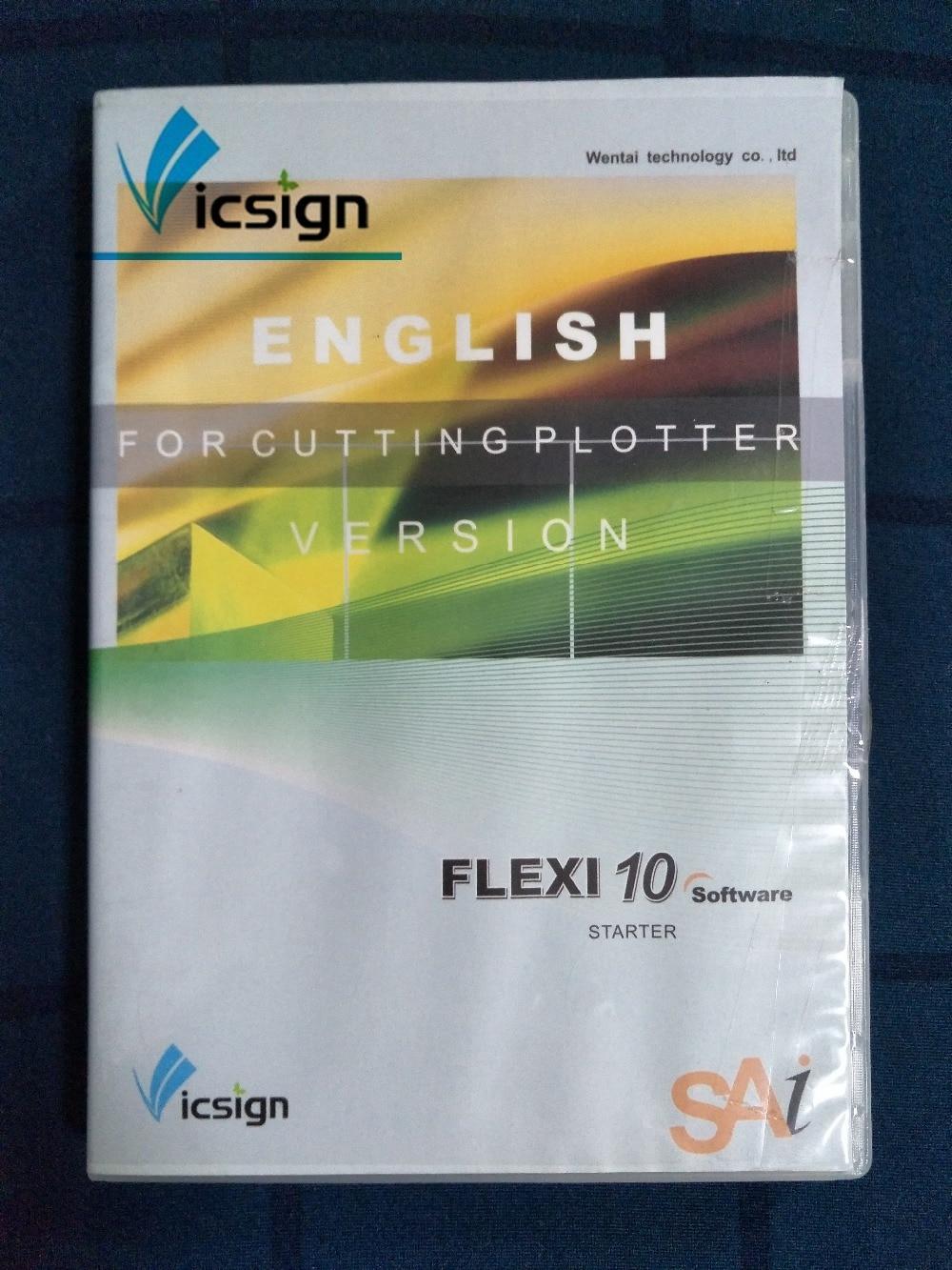 Vicsign חיתוך קושרים תוכנת Flexi 10