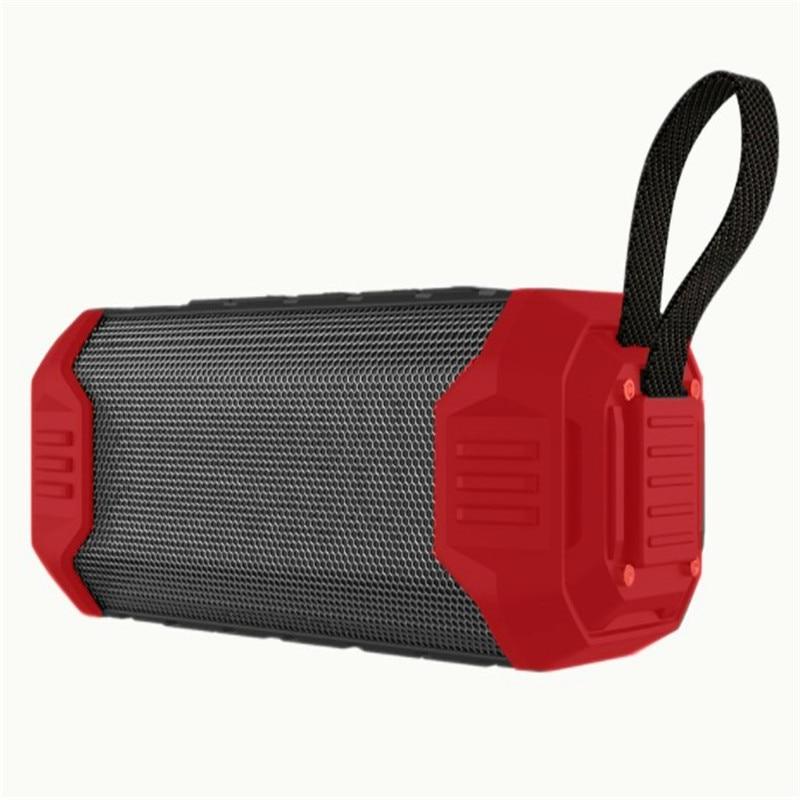 High Power Bluetooth TWS Deep Bass Speaker IPX5 Waterproof Hifi Music Mini Sound Box Portable Column Wireless Audio System khf301 mini golf ball shape bluetooth v3 0 music speaker deep pink white