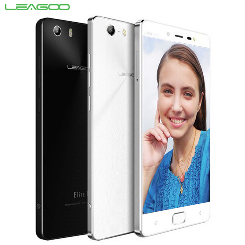 Original LEAGOO Elite 1 Cell Phone 3GB RAM 32 ROM Octa Core 5.0'' Screen 16MP Camera Android 5.1 OS Fingerprint Smartphone