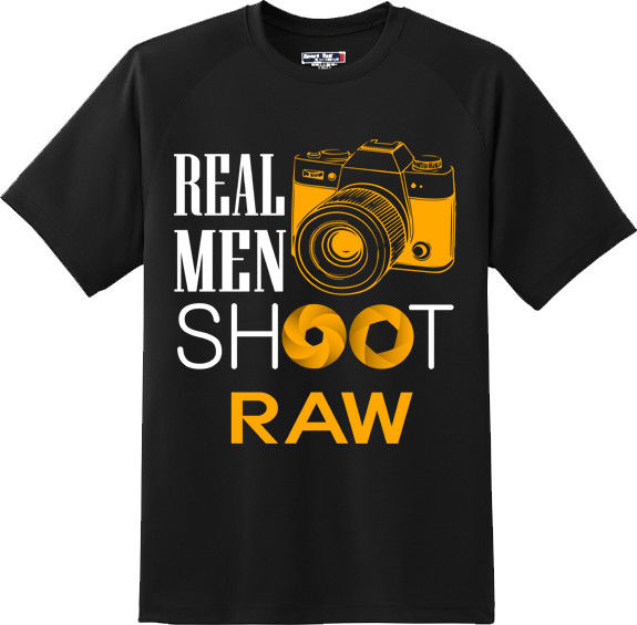 Shoot Raw Photography T Shirt