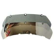 Серебро и Дыма Линзы Шлема Masei 610 ironman мотоциклетный шлем Козырек череп шлем ECE Утверждения