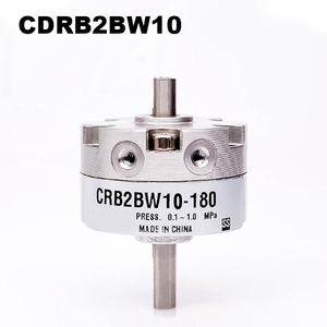 Image 1 - CRB2BW Series SMC Type Rotary Cylinder CRB2BW10 90S CRB2BW10 180S CRB2BW10 270S Single Vane Pneumatic Rotary Actuator Bore 10