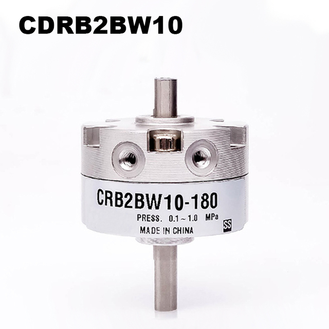 CRB2BW Series SMC Type Rotary Cylinder CRB2BW10 90S CRB2BW10 180S CRB2BW10 270S Single Vane Pneumatic Rotary Actuator Bore 10