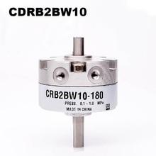 CRB2BW cilindro rotativo de Tipo SMC, CRB2BW10 90S de CRB2BW10 180S, actuador rotativo neumático de paleta única, 10 unidades