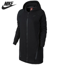 Original New Arrival NIKE TECH FLEECE CCOON-MESH Women's Jacket Hooded Sportswear(China)