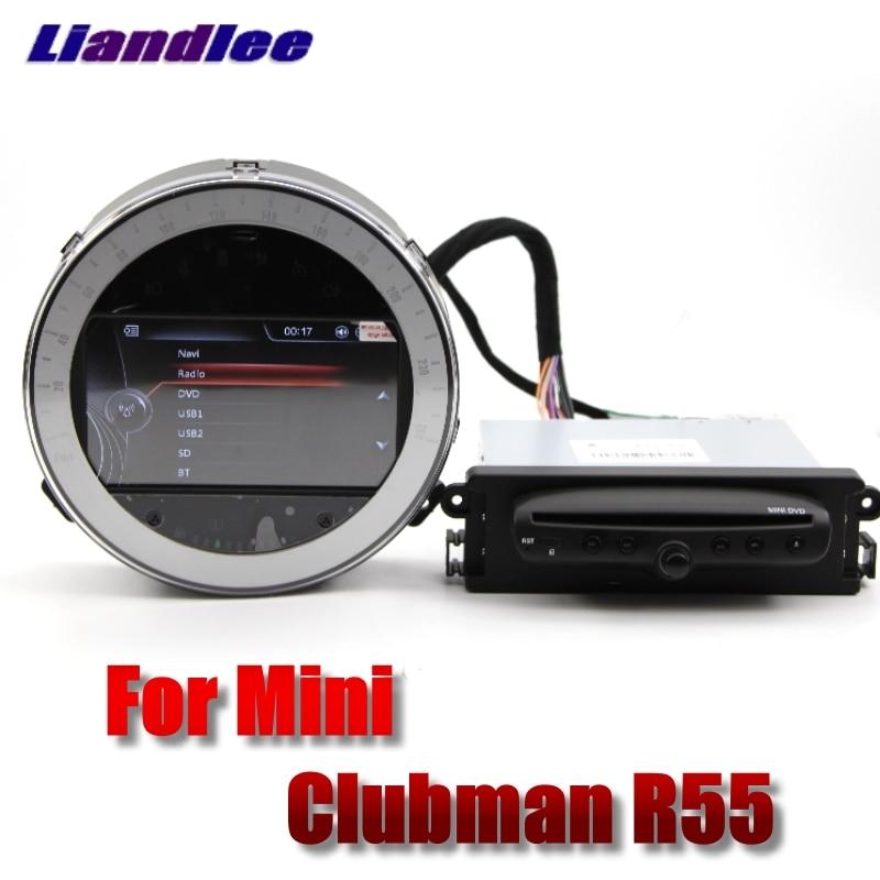 Liandlee Voiture Lecteur Multimédia NAVI Pour Mini Clubman R55 2007 ~ 2014 Style Original De Voiture DVD De Voiture Radio Stéréo GPS carte de Navigation