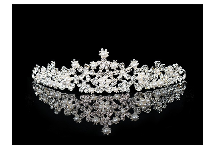 HTB1v07TLXXXXXa8XpXXq6xXFXXXw Magnificent Bridal Prom Pageant Crystal Inlaid Queen Tiara Crown - 2 Styles