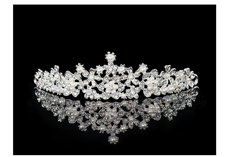 HTB1v07TLXXXXXa8XpXXq6xXFXXXw Magnificent Bridal Prom Pageant Crystal Inlaid Queen Tiara Crown - 2 Styles