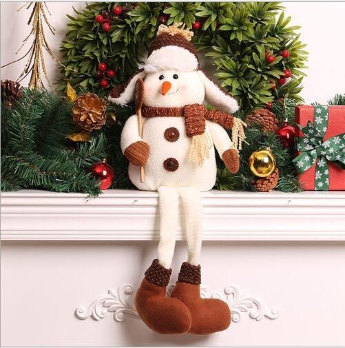 figuras de navidad decoracin de navidad mueco de nieve de navidad para el hogar