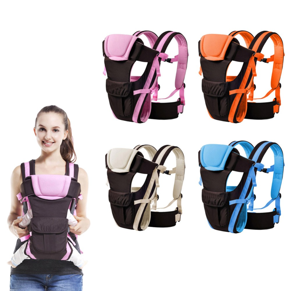 Hard-Working Baby Breathable Front Facing Carrier Infant Comfortable Soft Sling Backpack Pouch Wrap Baby Outdoor Safe Carrier Delaying Senility