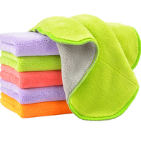 4pcs Lot 80 Polyester 20 Nylon Kitchen Clearning Wipes Not Afford Wash Cloth Towel Quick Dry
