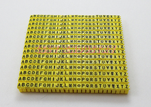 freeshipping Cable Markers M0 M1 M2 M3 Colourful C-Type Tag Label For  1.5 to 6mm2 ABCDEFGHIJKLMNOPQRSTUVWXYZ different number цена