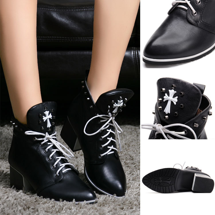 2015 high fashion designer brands motorcycle boots genuine for High couture brands