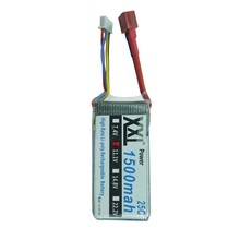 XXL lipo battery 11.1V 1500mAh 3S 25C MAX 50C for RC QAV250 T-REX 450 rc helicopters KT Plate