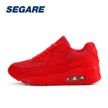 Women Running Shoes Height Increasing High Quality Women Sports Shoes Breathable Lace-up Ladies Outdoor Shoes