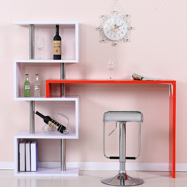 Bar tables Home corner bar counter rotating partition wall living ...