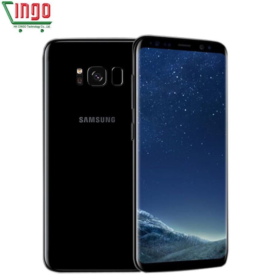 Original Unlocked Samsung Galaxy S8 Plus 4G LTE Mobile Phone 64G ROM 4G RAM 6.2 Octa core Dual Sim Fingerprint Smartphone s8+