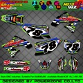 Customized Team Graphics  Backgrounds Decals 3M Custom ONE  Stickers For KAWASAKI KX250F KX450F KXF KLX 450 250 2004 2005 2015