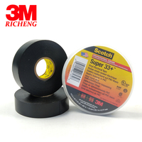 Original 3M Scotch Super 33 PVC Electrical Insulation Vinyl Adhesive Tape