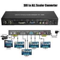 VOXLINK SDI To ALL Scaler Converter SD HD And 3G SDI To HDMI DVI VGA Composite