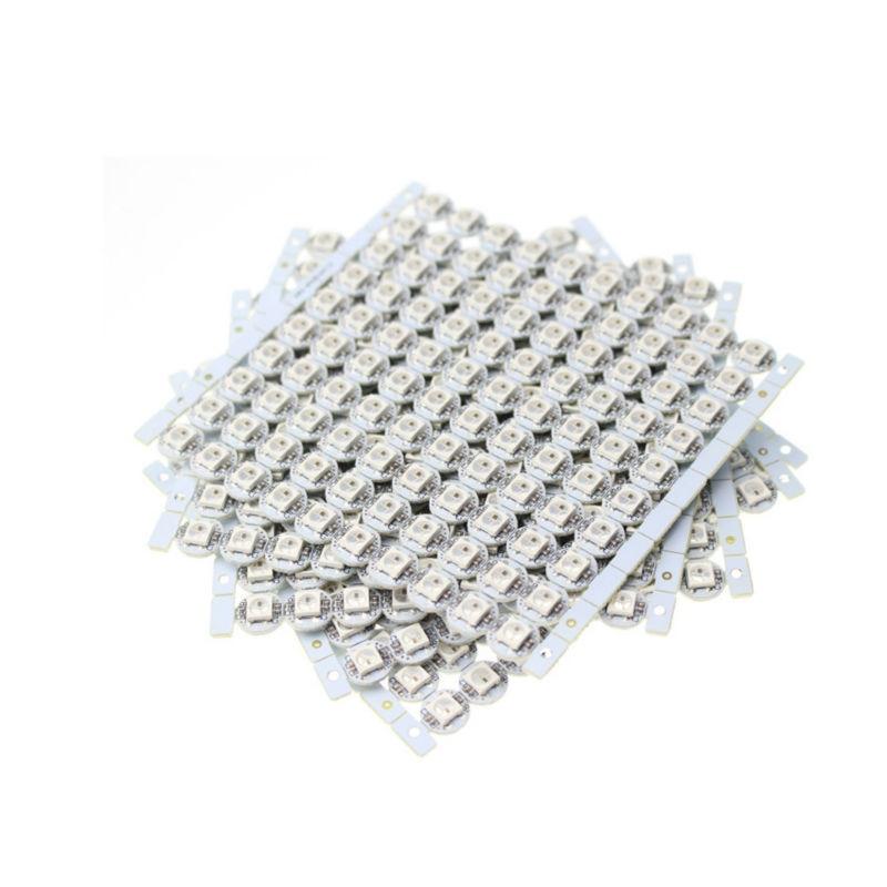 50-100個led 5v ws2812b ws2812 ledヒートシンク個別にアドレス指定可能な5050 rgbフルカラーled非防水送料無料