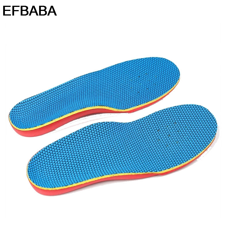 EFBABA Eva Orthopedic Insoles Flat Feet Arch Support X-o Leg Correction Children's Insole Orthopedic Shoes Accessories Inserts expfoot orthotic arch support shoe pad orthopedic insoles pu insoles for shoes breathable foot pads massage sport insole 045