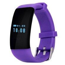D21 Сердечного Ритма Спортивные Bluetooth Smartwatch Браслеты Сна Монитор Health Tracker 0.66 Сенсорный Экран Waterprrof для Android IOS