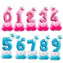 Десять цифровых шаров шляпы розовые синие вечерние украшения Праздничные подарки детская шляпа игрушка шар