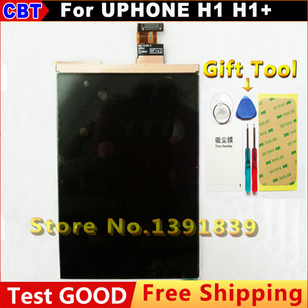 ФОТО 100% new Original LCD Screen Display Replacement For UPHONE H1 H1+ Display 3.5 inch  +Tool + Free Shipping +Postage + Registered