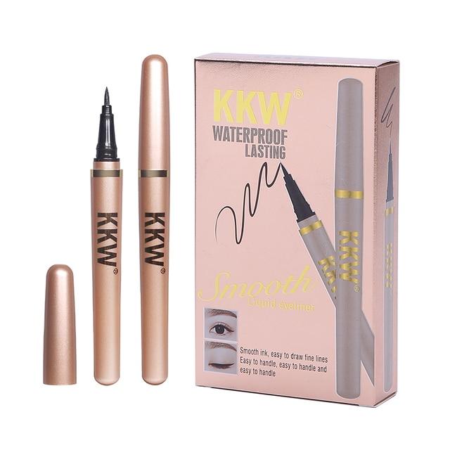 Black Eyeliner Pencil Fast Dry Liquid Eye Liner Pen Women Eyes Makeup Waterproof Eyeliners Make up Cosmetic Tool