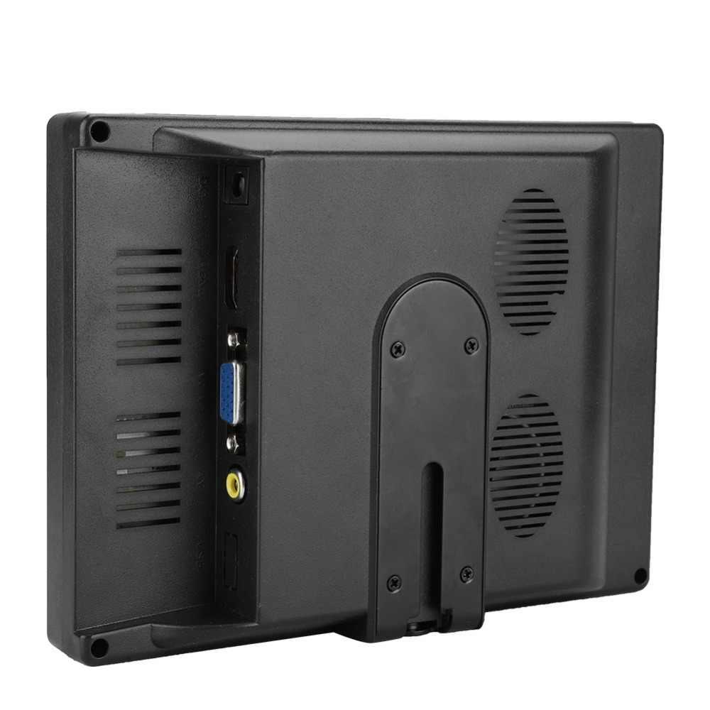 7 pulgadas Monitor 1024x600 monitor de portátil Multi-pantalla de funciones HDMI/VGA/ENTRADA AV 16:9 Monitor lcd para Raspberry Pi coche pantalla CCTV ect