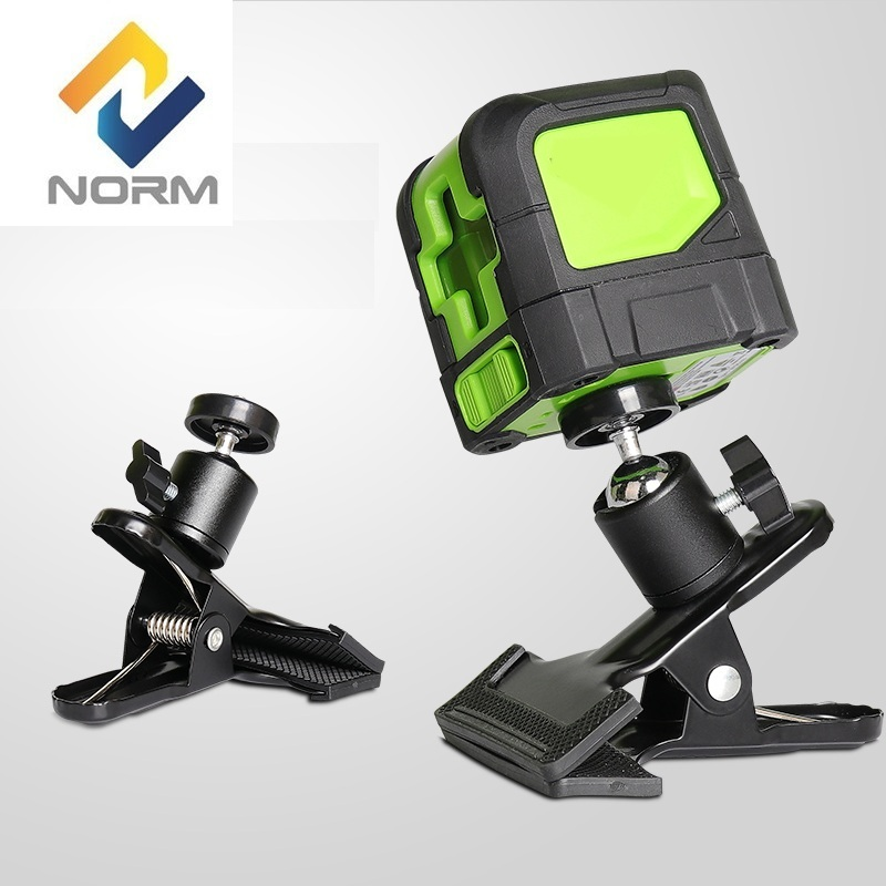 Norm laser level Green line mini laser cross lines level with adjustable mounting clamp high quality southern laser cast line instrument marking device 4lines ml313 the laser level