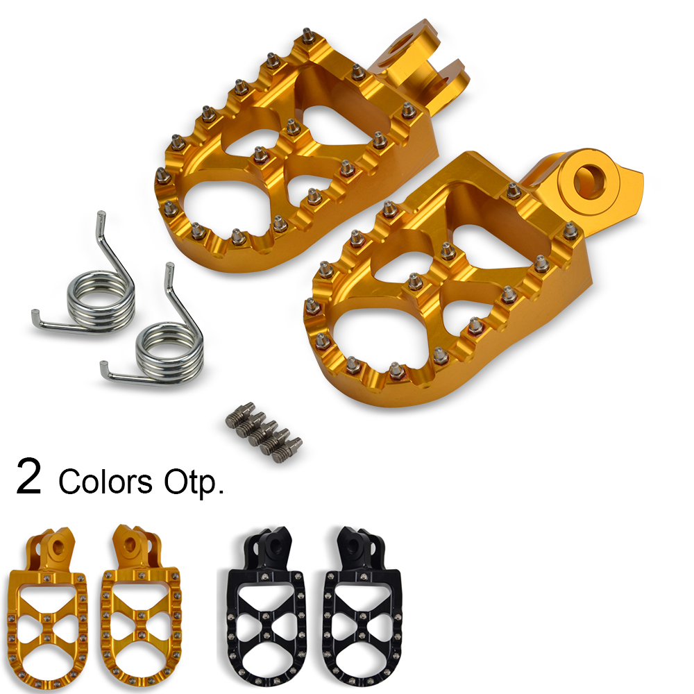 Footrest Footpeg Foot Pegs Rests Pedal For Suzuki RMZ250 RMZ450 RMX450Z RM-Z250 10-18 RM-Z450 08-18 RM-Z RMZ 250 450 RMX 450Z
